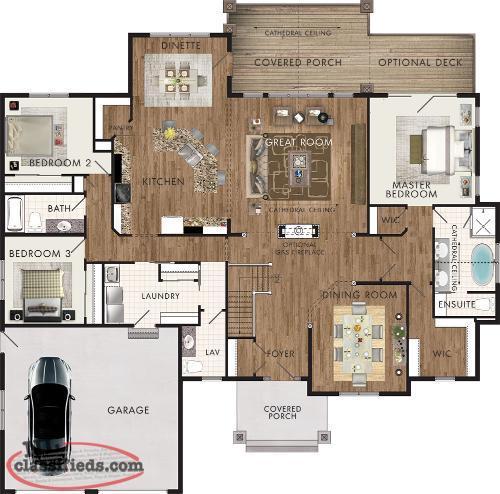 House plans st john 39 s newfoundland labrador nl for Nl house plans