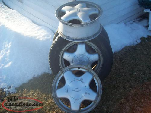 16'' GM ALLOY RIMS
