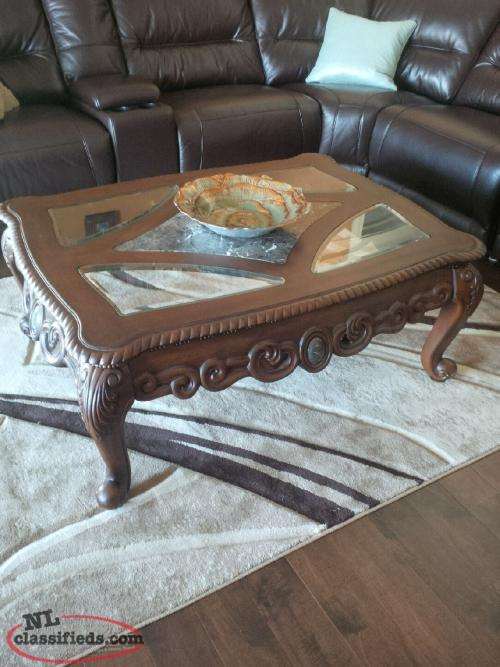 Ashley North Shore Coffee And End Table Cbs Newfoundland