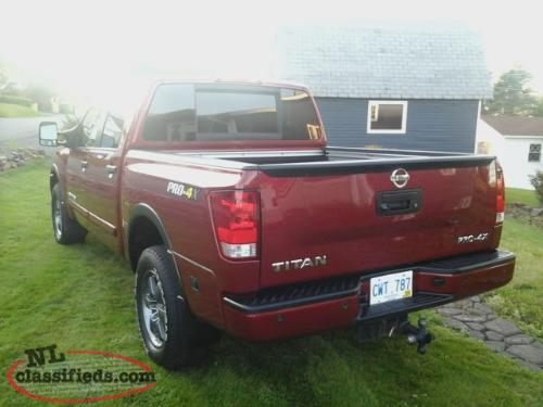 2014 nissan titan pro 4x marystown newfoundland. Black Bedroom Furniture Sets. Home Design Ideas