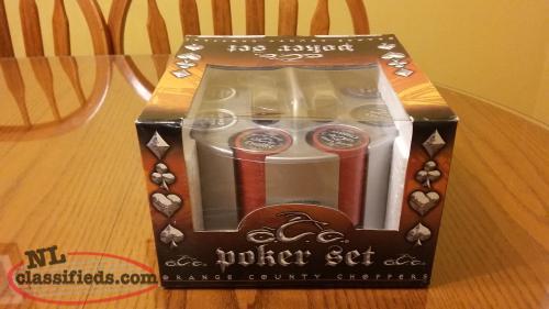 Poker chips orange county