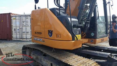 Case CX145C Excavator for sale