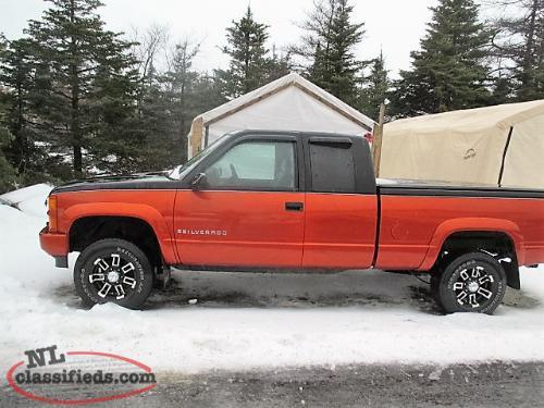 St. Stephen Chevrolet Parts >> 1997 Chevy Silverado - Witless Bay, Newfoundland
