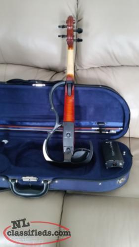 Yamaha electric violin witless bay newfoundland labrador for Yamaha electric violin