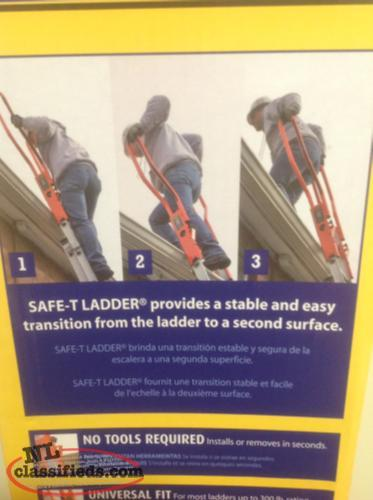 Guardian Safe T Ladder Extension New In Unopened Box
