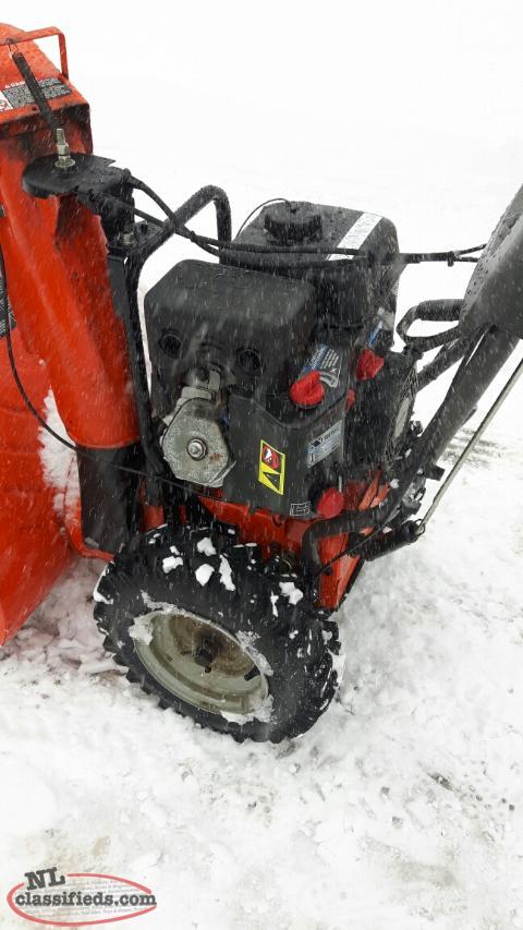 how to start snowblower husqvarna