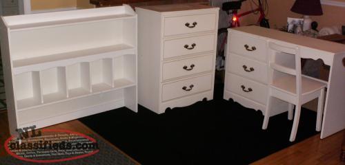 Desk Bureau And Matching Bookcase Headboard Mt Pearl Newfoundland