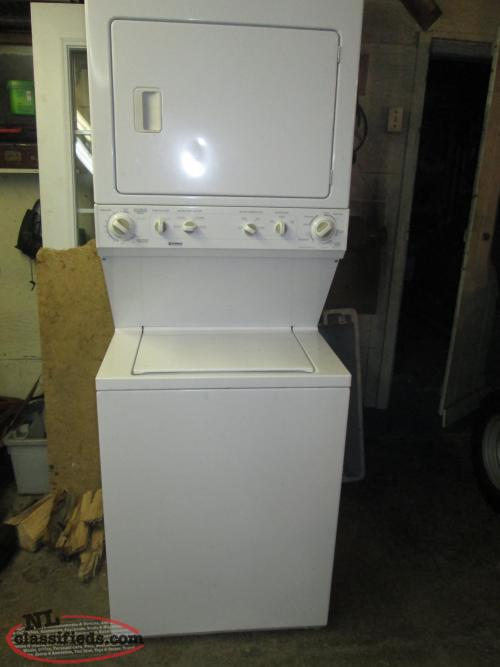 stackable washer and dryer bay de verde newfoundland