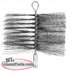 Imperial 8 in. x 12 in. Wire Chimney Brush