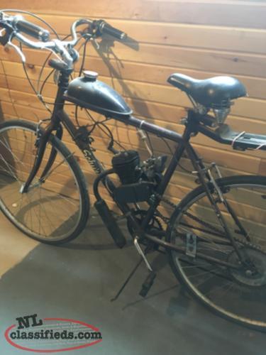 Schwann Motorized Pedal Bike Old Shop Newfoundland