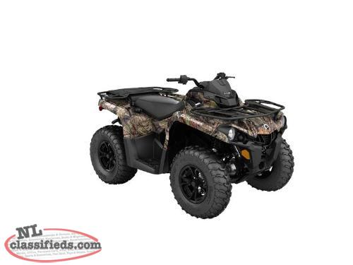 5 YEAR WARRANTY + SAVE $700 on a BRAND NEW 2016 Can-Am Outlander L DPS 450 CAMO