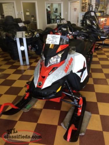 JUST TRADED! 2016 Ski Doo BackCountry X 800 ETEC
