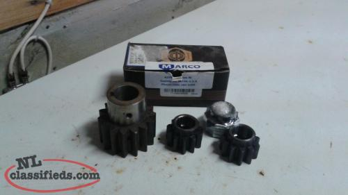 "3 ""NEW"" Marco 19in. Power Block Pinion Gears"