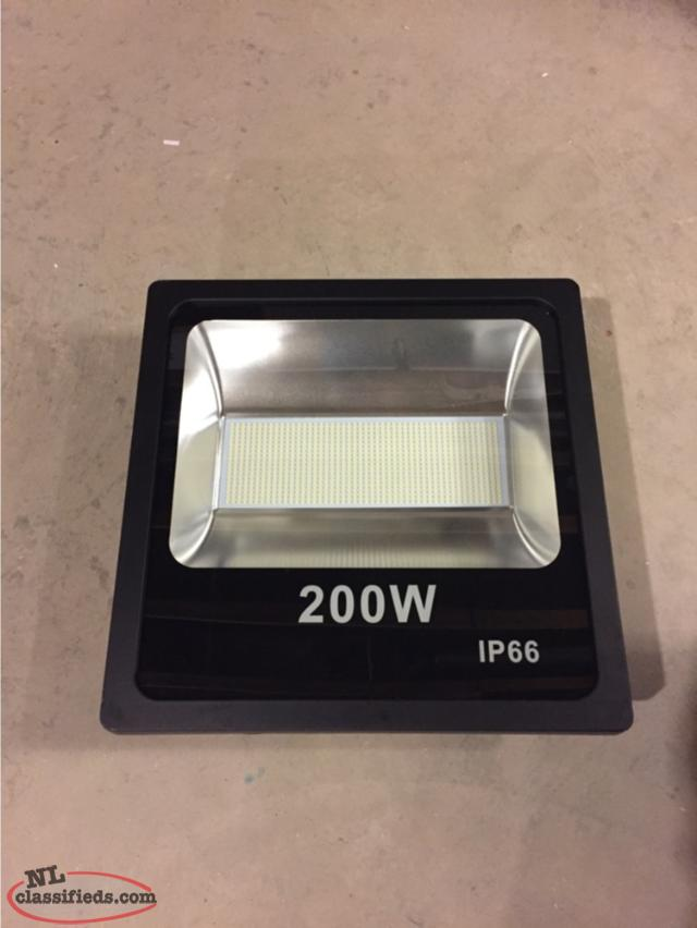 200 watt 29000lm led flood light old perlican newfoundland. Black Bedroom Furniture Sets. Home Design Ideas