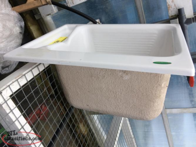 Fiberglass Laundry Tub : Fiberglass Laundry Sink - Placentia, Newfoundland