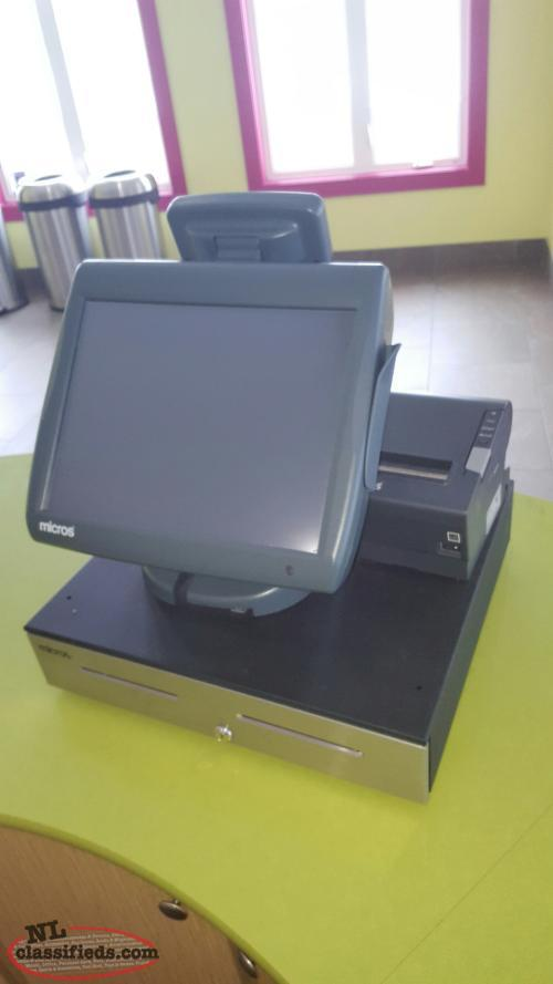 Micros e7 Point-of-Sale System
