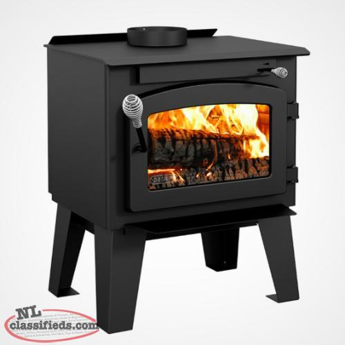 "New Drolet ""Spark"" woodstove"