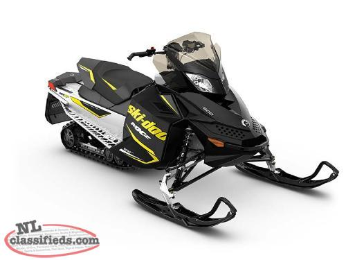 SPRING BLOWOUT - SAVE $2,150 on a 2016 Ski-Doo MX Z Sport 600 Carb
