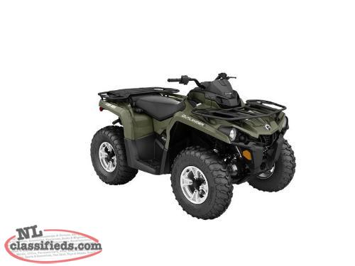 SPRING BLOWOUT-5 Yr. Warr.+SAVE $1,650 on a NEW 2016 CAN-AM OUTLANDER L DPS 570