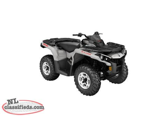 SPRING BLOWOUT-2 Yr. Warr.+ SAVE $1,900 on a NEW 2016 CAN-AM OUTLANDER DPS 650