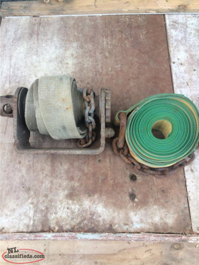 Weld On Winch Strap