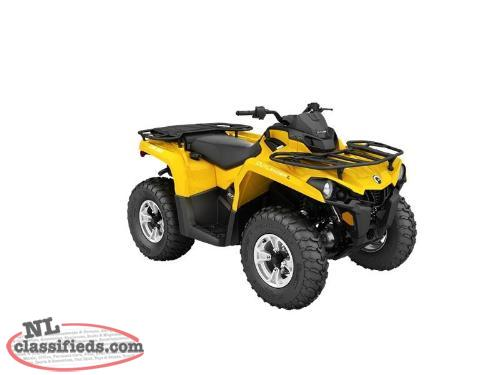 SPRING BLOWOUT-5 Yr. Warr.+SAVE $1,500 on a NEW 2016 CAN-AM OUTLANDER L DPS 570