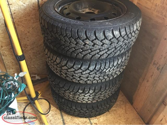 205/55R16 Tires And Rims For Honda Civic