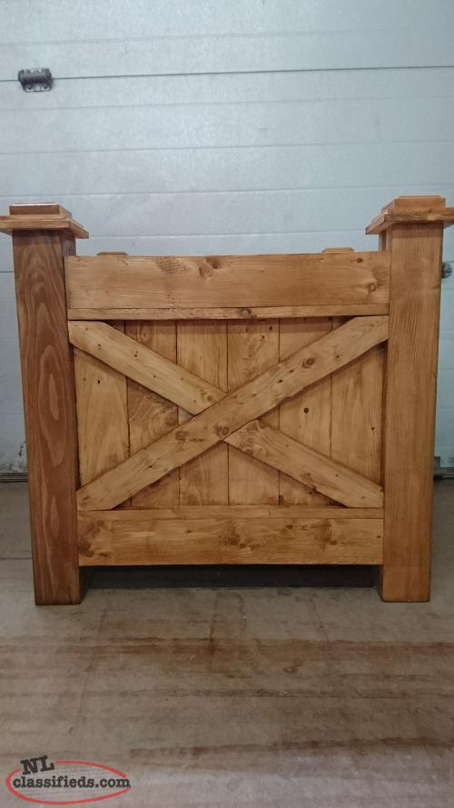 New Wooden planter us for sale