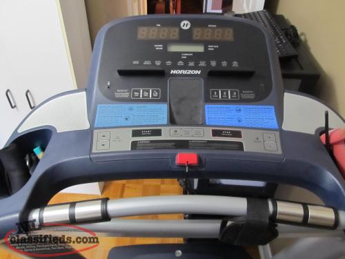 Lowered price.HORIZAN CT 5.1 TREADMILL..GENTLE USED IN MINT CONDITION.