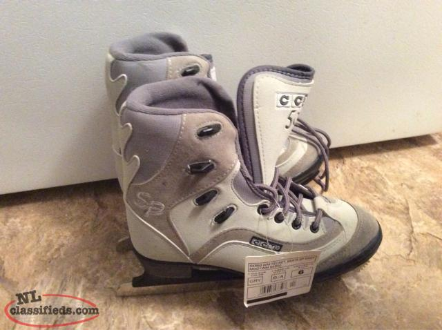 New Ccm Figure Skates