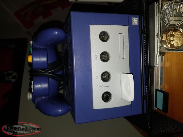 Purple Gamecube and Games