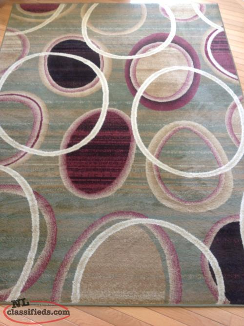 "For Sale - Belmont Rectangular Area Rug 5' 3"" x 7' 2"""