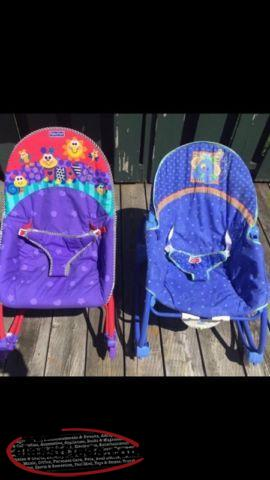 2 Fisher Price Rockers