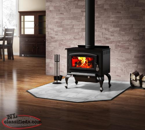 "Drolet ""Columbia"" Woodstove New in crate"