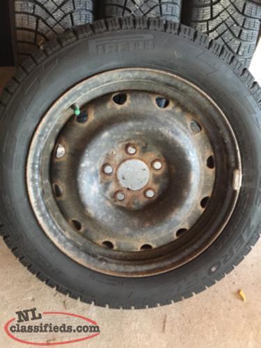 Brand new WINTER tires on rims - CBS, Newfoundland Labrador