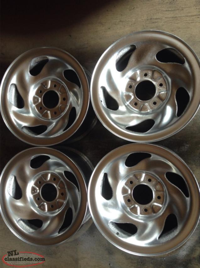 "16"" Ford F150 Steel Rims (5 Lug x 135mm Bolt Pattern) - Goulds, St.John's, Newfoundland Labrador"
