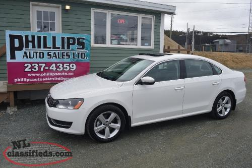 2013 VW Passat Comfortline - 48K / 2.5L 5 Cyl / Moonroof / Heated Leather