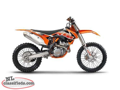 MAY 24 DEAL - USED 1 RACE DAY - SAVE $2,350 on a DEMO KTM '15 250 SX-F