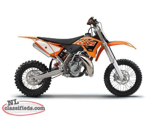SAVE $1,550 on a BRAND NEW KTM 2015 65 SX