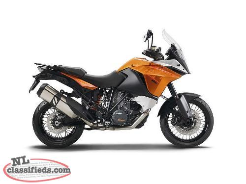 DEMO JUST 279 km - SAVE $5,200 on a KTM 2015 1190 ADVENTURE ABS