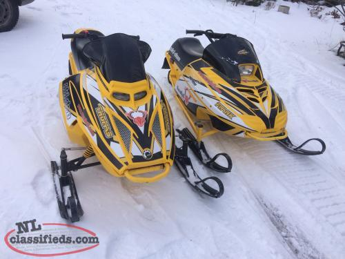 Two mini-z sleds for sale