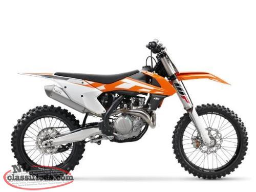MAY 24 DEAL - SAVE $2,250 on a BRAND NEW KTM 2016 450 SX-F