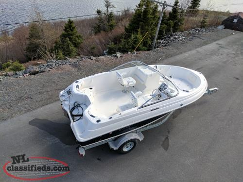 Save $14,000 On A New 2017 Wellcraft/Yamaha Sportsman 180 Boat PKG. ONLY 2 LEFT.