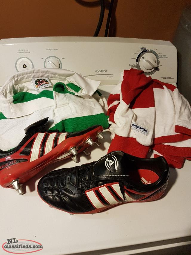 Rugby Cleats & Jerseys