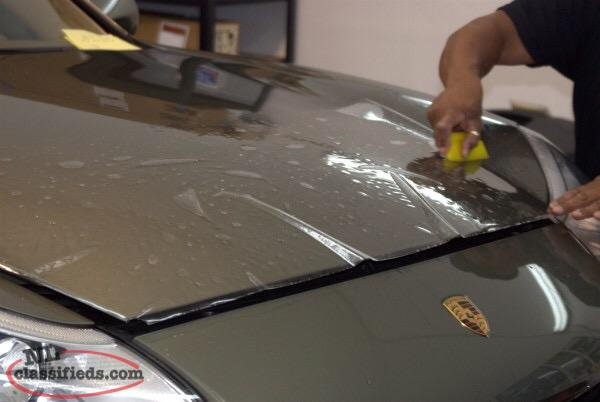 how to apply clear vinyl wrap