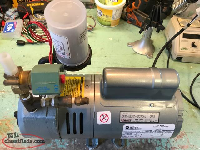 Compressor, Fan, & Vacuum Pump