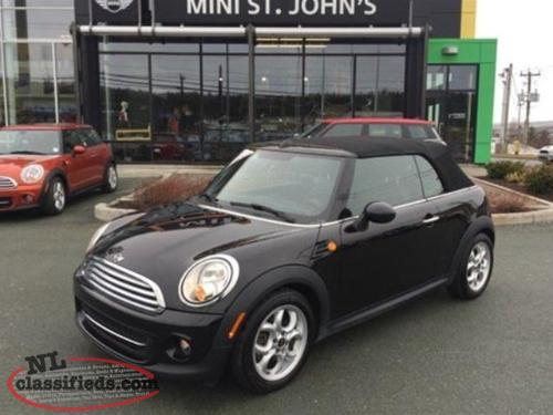 2013 MINI Convertible Knightsbridge Edition