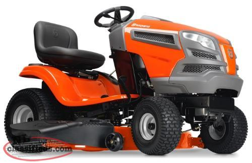 Get Ready for Summer with a NEW Husqvarna Lawn Tractor!!