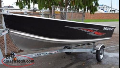 Smokercraft and G3 Utility Boats instock NOW!