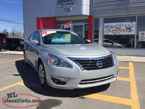 2015 Nissan Altima Certified Pre-owned